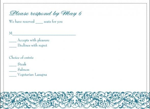 RSVP wording wedding RSVP Card 5 months ago Related Topics