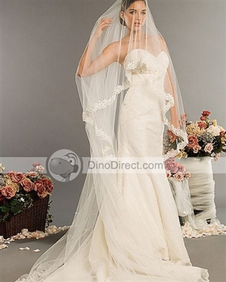 Buyers Remorse Bees Please Help!!!! :  wedding dress veil Bridal Wedding Veils Chapel Length Yarn 2776464 Yfbig