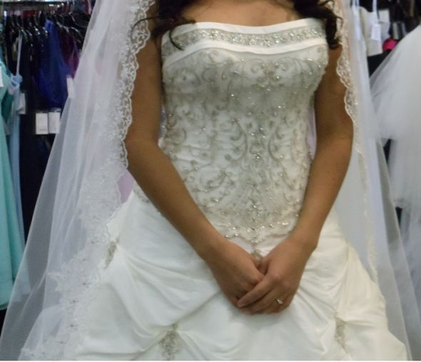 Buyers Remorse Bees Please Help!!!! :  wedding dress veil Resized 3