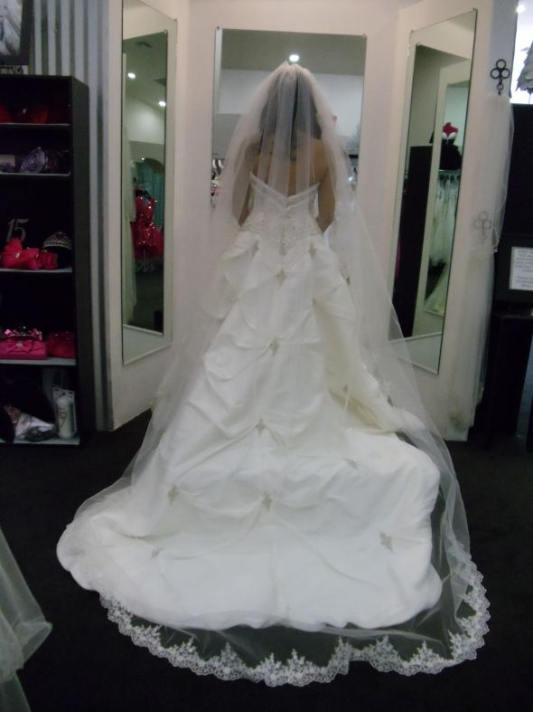 Buyers Remorse Bees Please Help!!!! :  wedding dress veil Wedding And Other Stuff 699