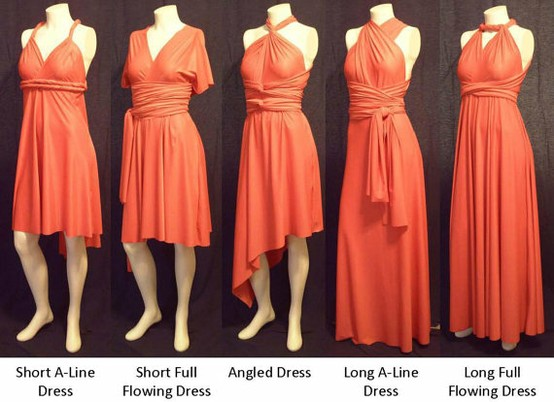 Bridesmaid Dresses You Can Wear Diffe Ways