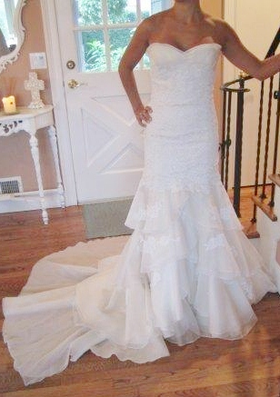 for a petite bride. need to sell asap! best offer! :  wedding dress Dress
