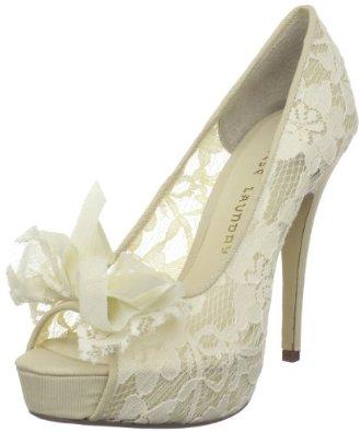 My Lace open toe pumps on sale ohyeah wedding ivory shoes 41XgWAUQyXL