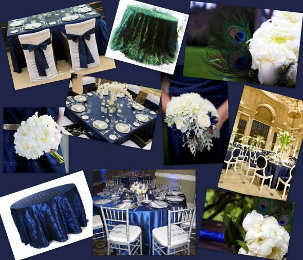 Navy Blue White And Silver Wedding Theme Image Collections