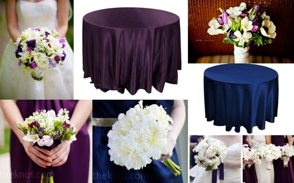 Stunning Navy Blue And Purple Wedding Ideas - Styles & Ideas 2018 ...
