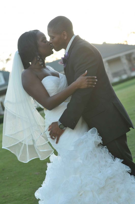 Wedding Day Bliss :  wedding dress ivory Happy Couple 23