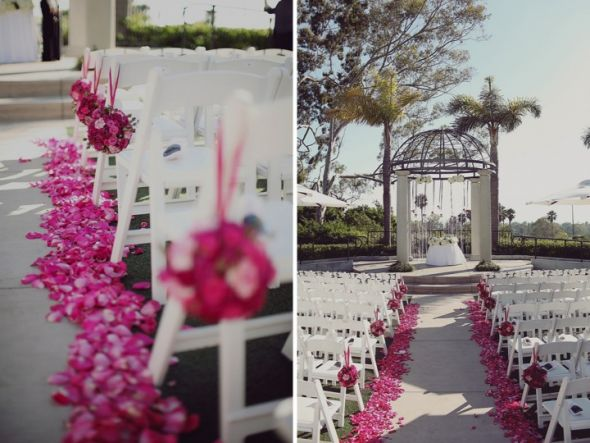 Help with pink/gray wedding!