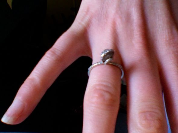rough diamond engagement ring wedding rough diamond engagement ring Photo
