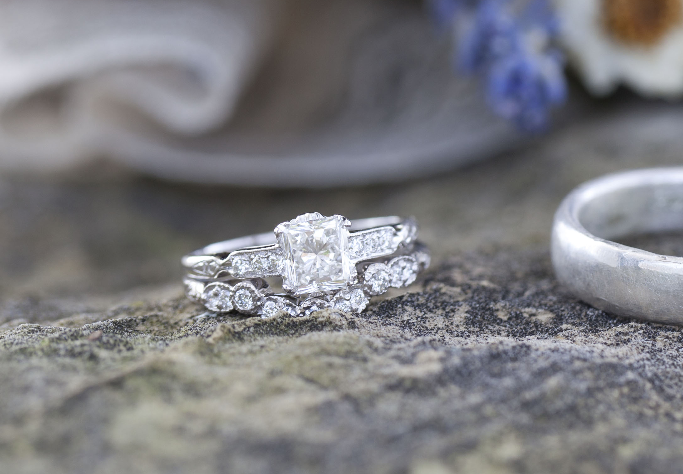 Nosey me what did your custom wedding band cost what did your custom wedding band cost junglespirit Image collections