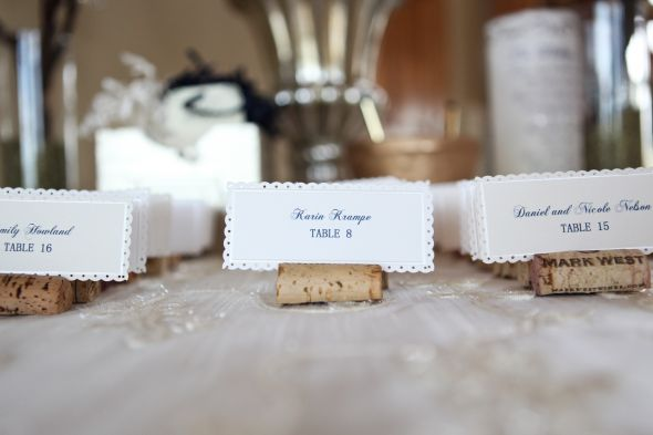 Place Cards And Place Card Table