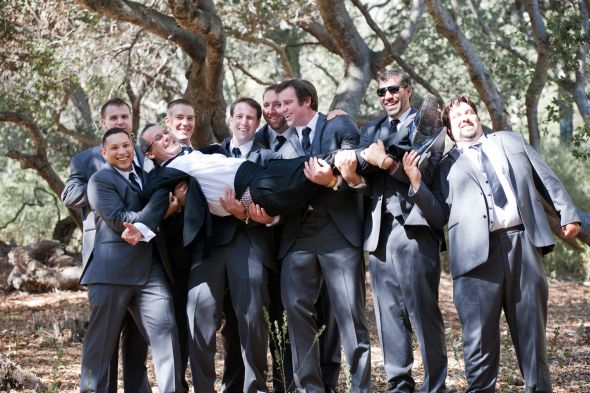 Father of the Bride and Groomsmen in