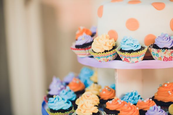 Colorful Fun Cupcakes!