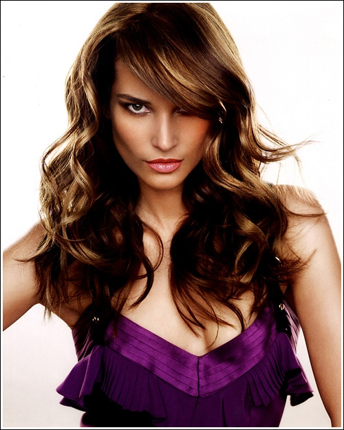 latest trends in long hairstyles pictures 8210 Miranda Kerr, Naked Friends Pose For Pirelli Calendar