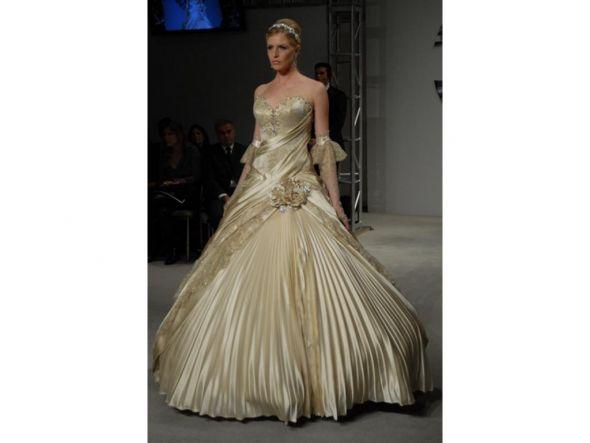 wedding what dress looks better help Pnina Tornai Ball Gown