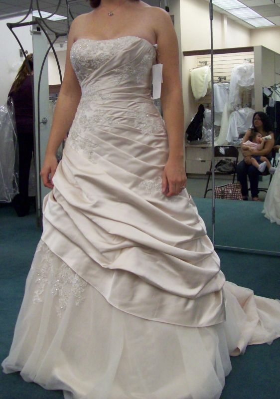 Also my dress MOB walking bride down the aisledress ideas wedding