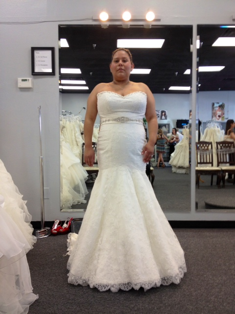 Plus Size La Oc Area Brides