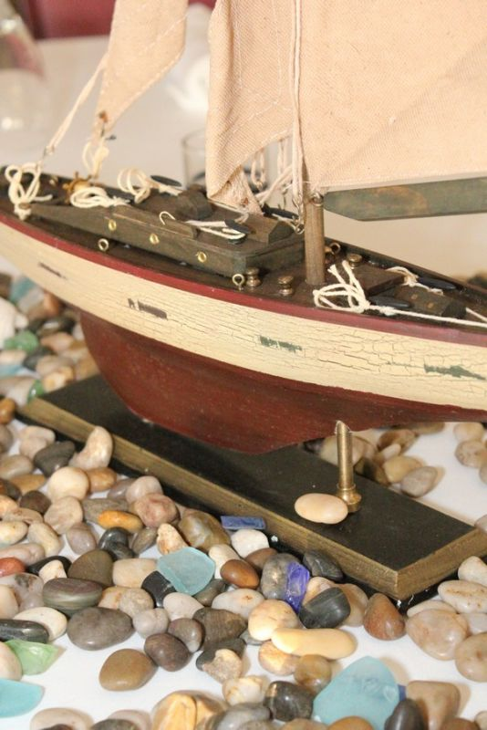 Nautical Boat centerpiece