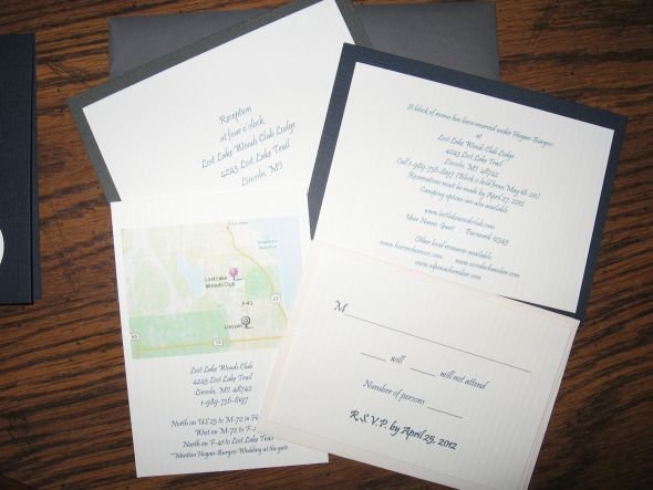 Handmade Nautical Invitations :  wedding diy invitations ivory nautical navy Wedding Invitation Inserts