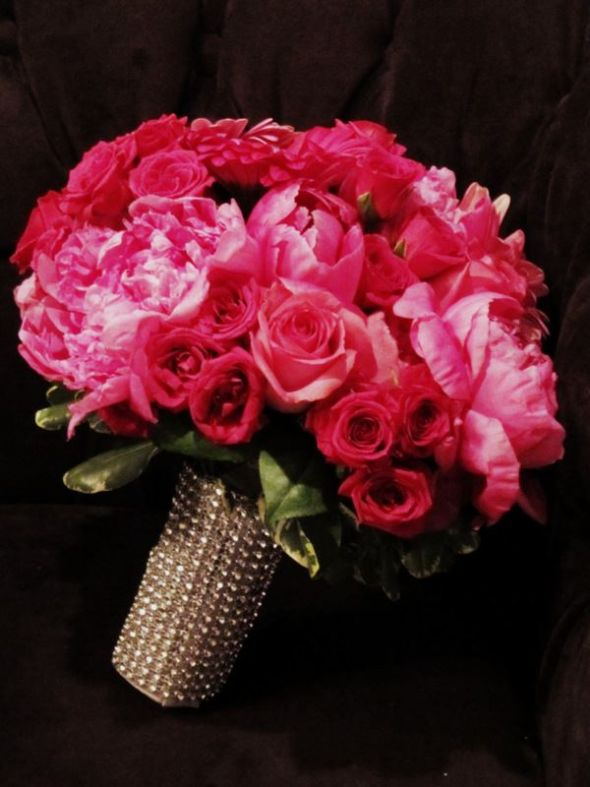 Pink & Blingy Bouquet!