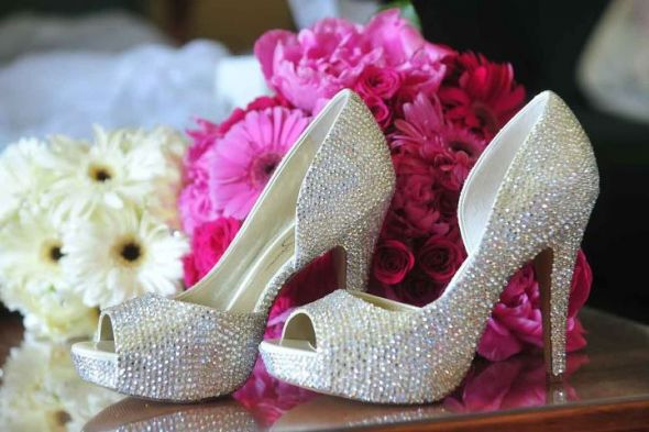My amazing wedding shoes!