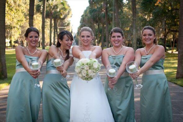 Alternative To Bridesmaid Bouquet