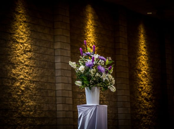 Ceremony Flowers, Reception Centerpieces And
