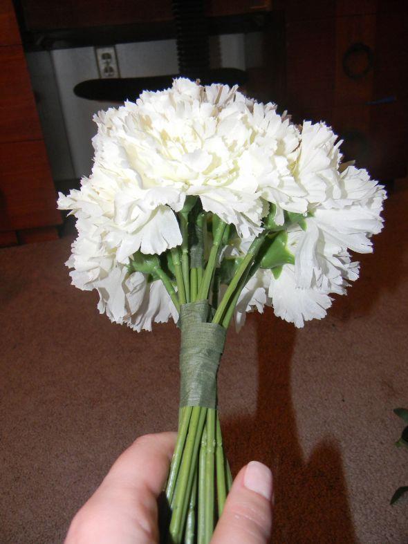 Cascade Bridal Bouquet Instructions : How to make a wedding bouquet of silk flowers