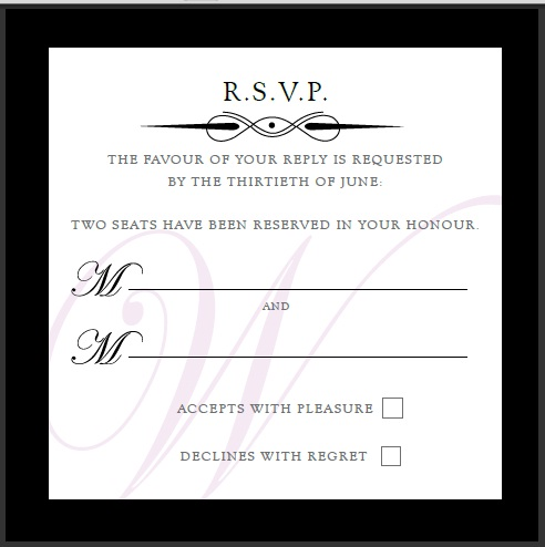 Rhodeshia39s blog wording for an adult only reception can for Wording for wedding invitations with rsvp