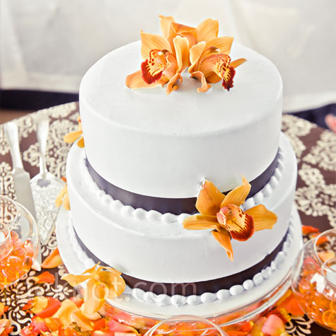 wedding Image475x475 Except navy blue instead of brown ribbons and yellow