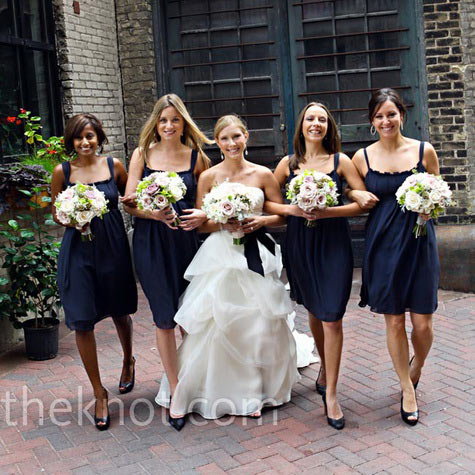 Brides Bridesmaids Amp Blooms Foucus On Shades Of Blue