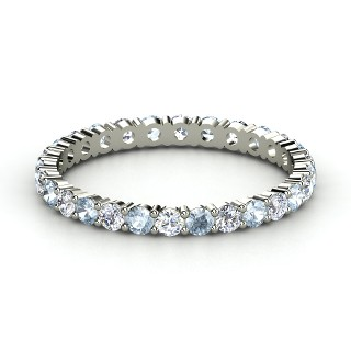 Help Pleasewedding Band With This Aquamarine E Ring Or