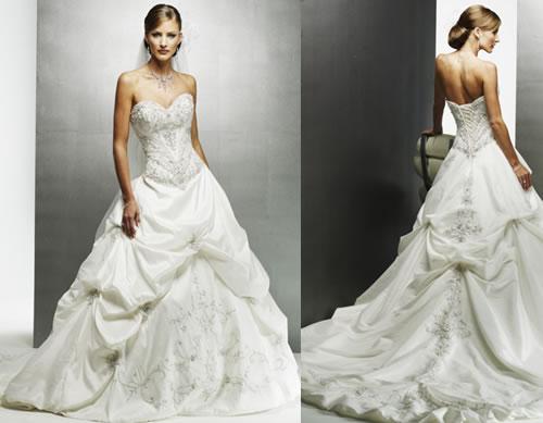 I got my dress! (Maggie Sottero Monalisa Royale)