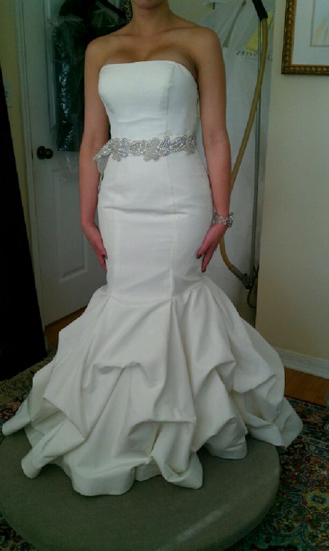 Dress regret 1 week away :( | Weddingbee Photo Gallery