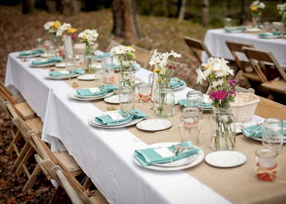 Lots Of Decor From Outdoor Rustic Barn Wedding