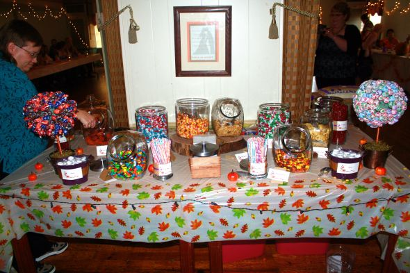My candy buffet (tons of pics)