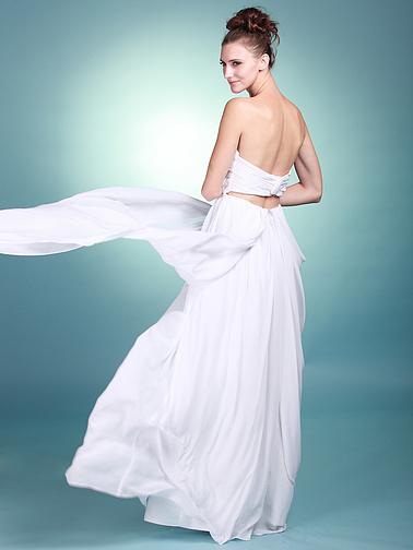 long flowy wedding gowns