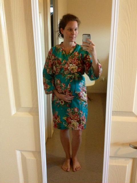 Beautiful maternity/hospital robes