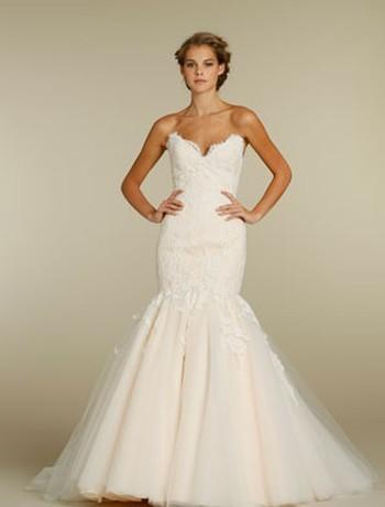 Jim Hjelm Blush Wedding Dress Style 1006 33