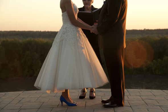 37734542c49 Zilpha S Blog If You Wore Blue Shoes With Your Wedding Dress I
