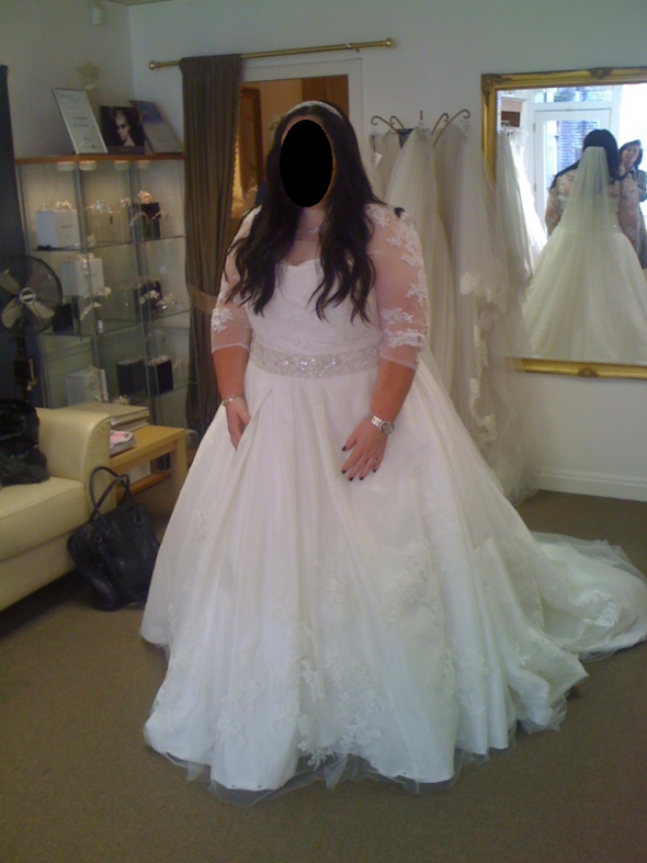 Wedding Dresses For Fat Arms Dress With Sleeves Or Added Shrug