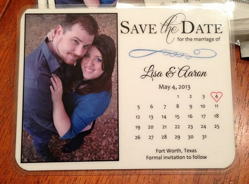 DIY Magnet Save the Date