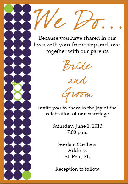 Possible Invitations