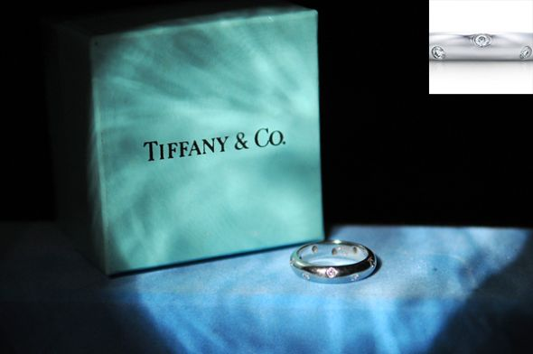 Tiffany Etoile Platinum Wedding Band wedding tiffany platinum wedding band