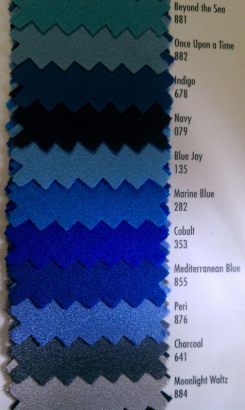 Dark blue – not navy, not cobalt – in between – what dress ...