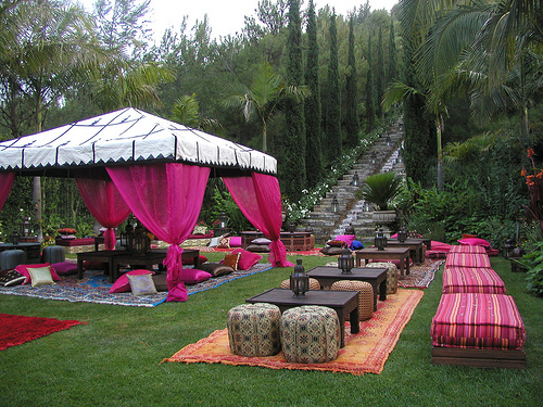 Think A Morrocan Themed Wedding Would Be Amazing
