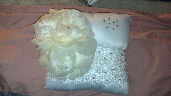 My DIY Ring Pillow.