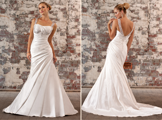 Essence of Australia d1245 :  wedding dress 1