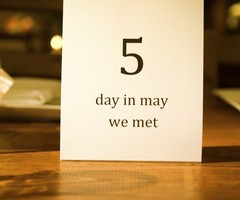Table numbers with meaning