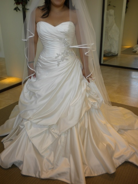Wedding Dress inspiration :  wedding ball gown ceremony dress inspiration long train sweet heart top wedding dress white New Image