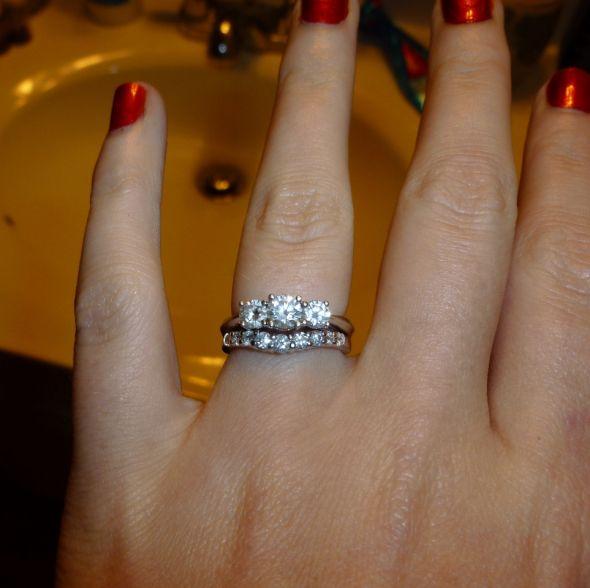 Show me your threestone rings